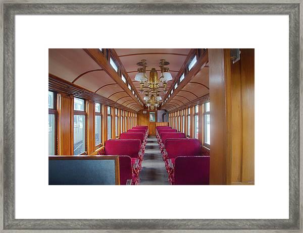 Passenger Travel Framed Print