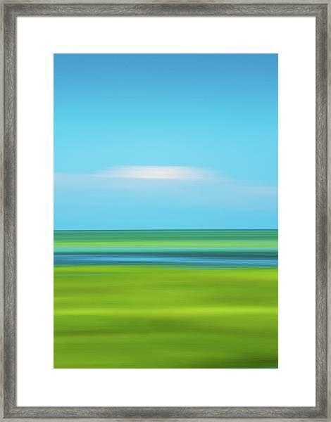 Passing Cloud Framed Print