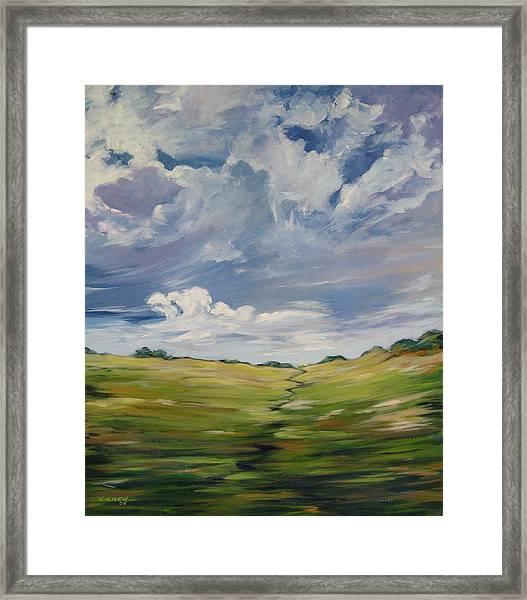 Passing Landscape Framed Print
