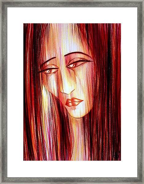 Passion Draining Framed Print