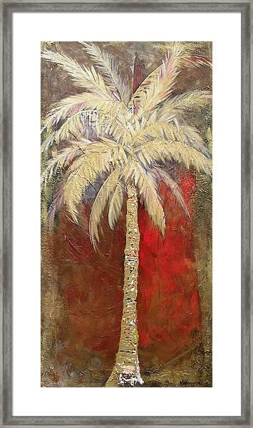 Passion Palm Framed Print