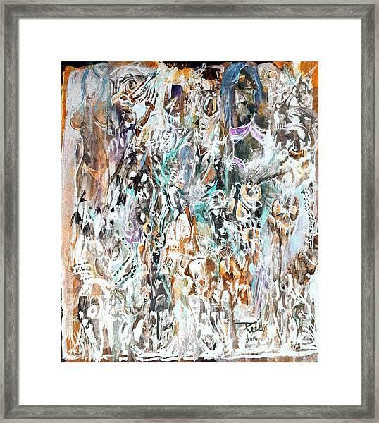 Past Life Trauma Inverted Framed Print
