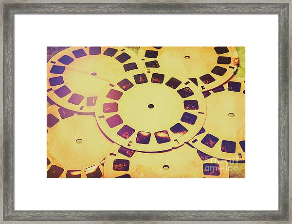 Past Projection Framed Print