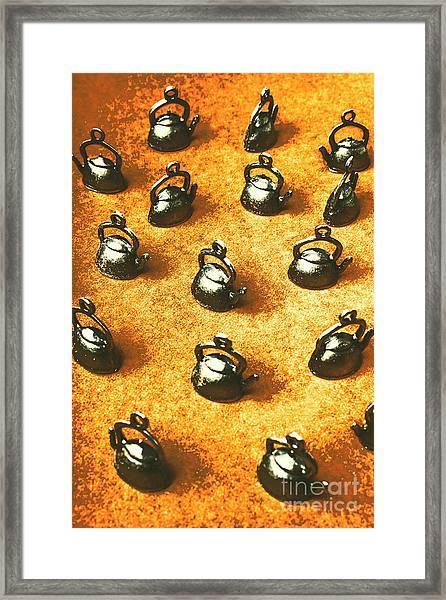 Past Tea Time Framed Print
