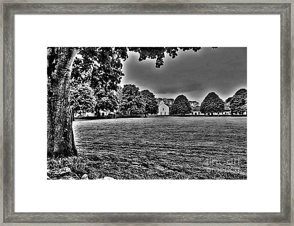 Pasture Framed Print