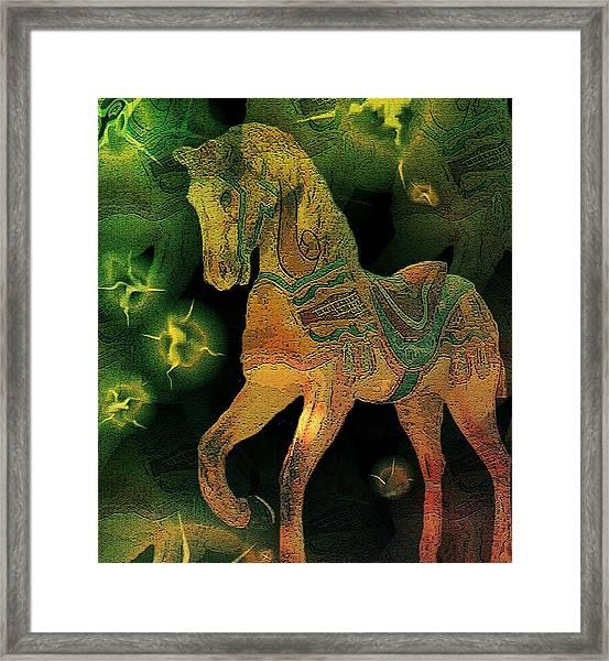 Pastures New Framed Print