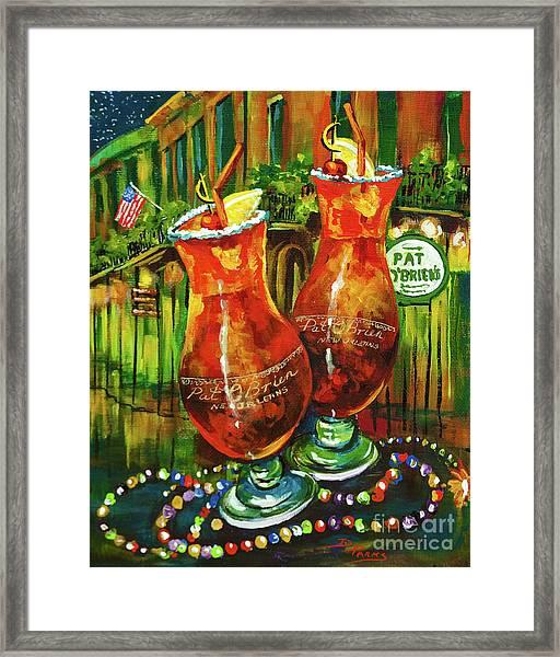 Pat O' Brien's Hurricanes Framed Print