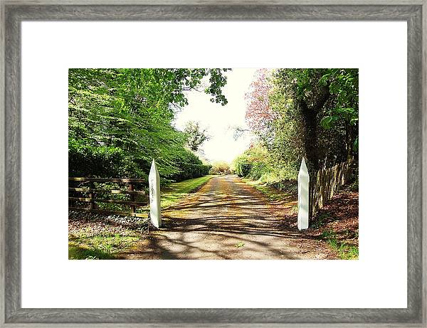 Path Ahead Framed Print