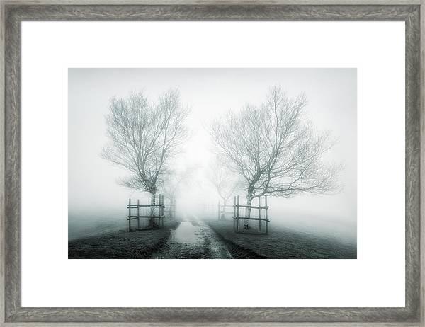 Path To Nowhere II Framed Print