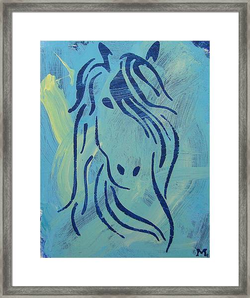 Framed Print featuring the painting Patience by Candace Shrope