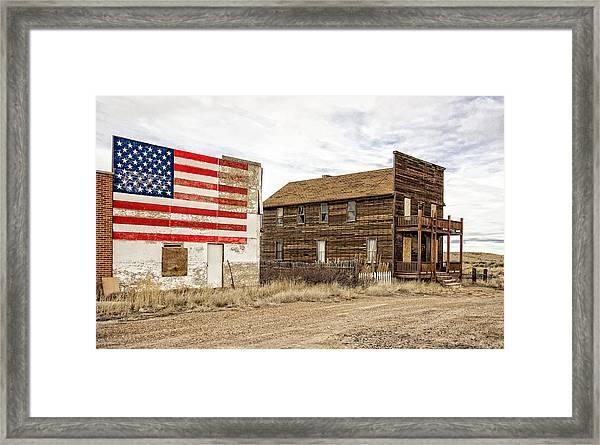 Patriotic Bordello Framed Print
