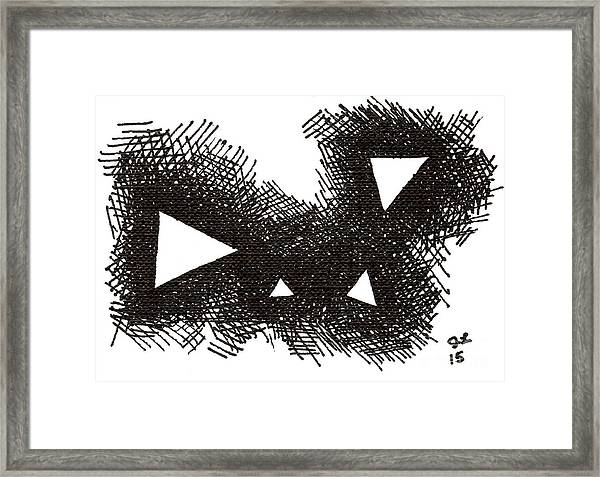 Patterns 2 2015 - Aceo Framed Print