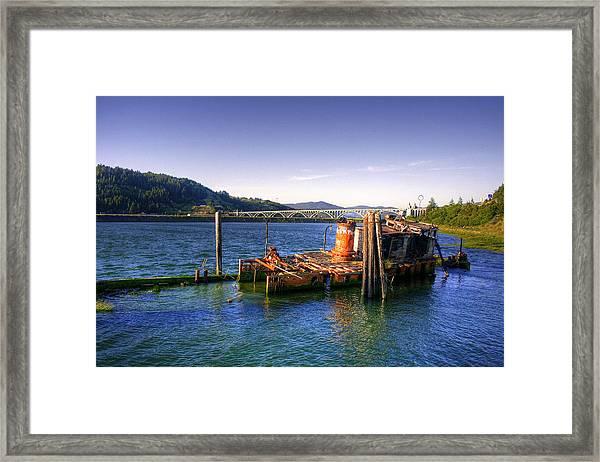 Patterson Bridge Oregon Framed Print