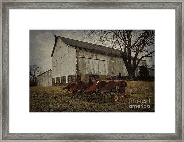 Patterson Farm  Framed Print