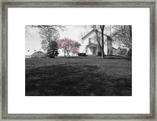 Framed Print featuring the photograph Patton Place by Dylan Punke