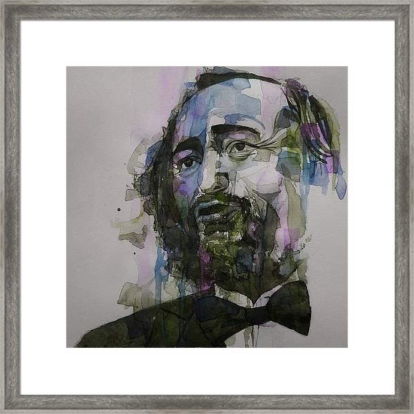 Pavarotti Framed Print