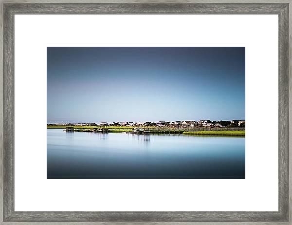 Pawleys Island North Causeway Framed Print