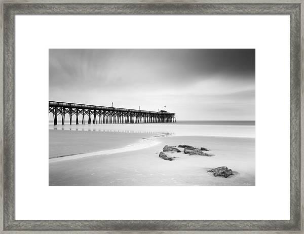Pawleys Island Pier I Framed Print