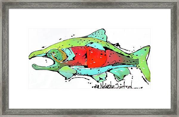 Payne The Salmon Framed Print