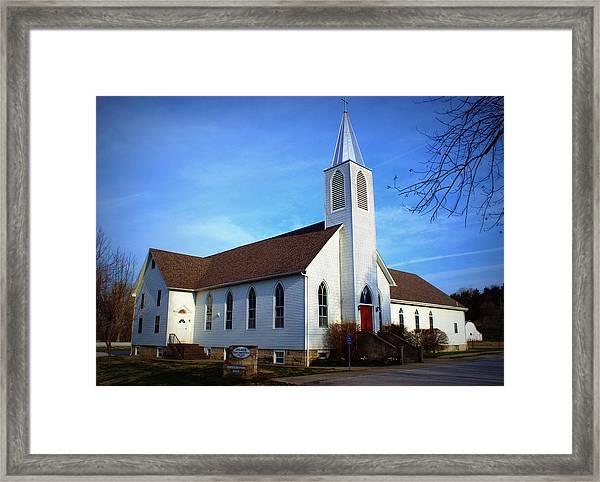 Peace Church Framed Print