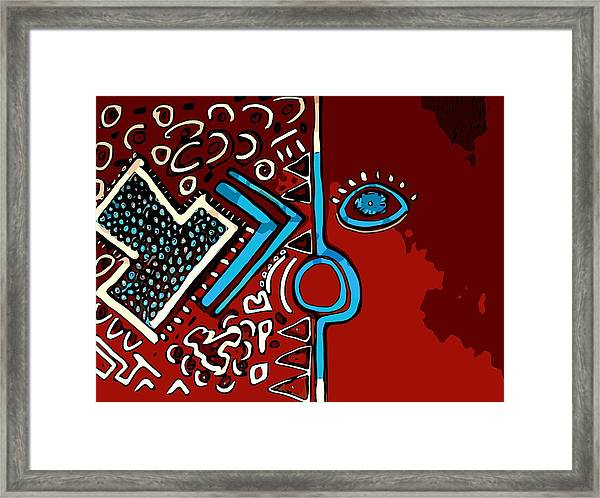 Peace Pipe Framed Print