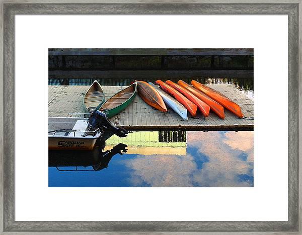 Peaceful Day Framed Print