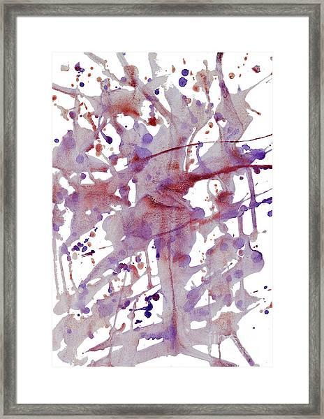 Peaceful Pink Framed Print