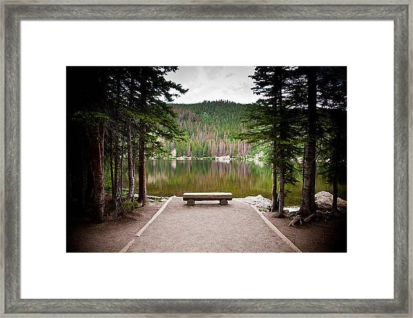 Peaceful Place Framed Print by Patrick  Flynn