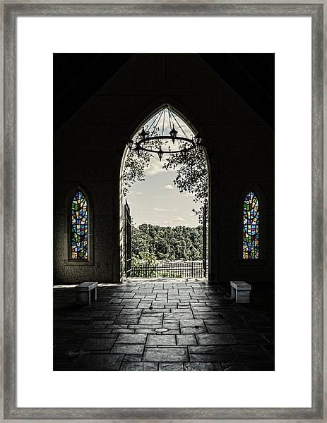 Peaceful Resting  Framed Print