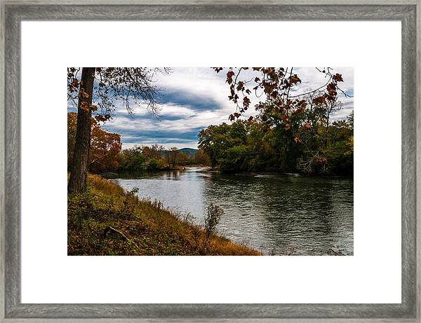 Peaceful River Framed Print