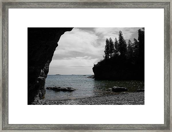 Framed Print featuring the photograph Peaceful Waters by Dylan Punke