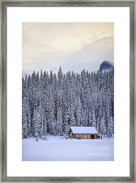 Peaceful Widerness Framed Print
