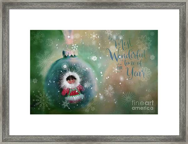 Peace,love,joy Framed Print