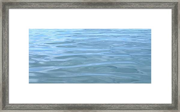 Pearlescent Tranquility Framed Print