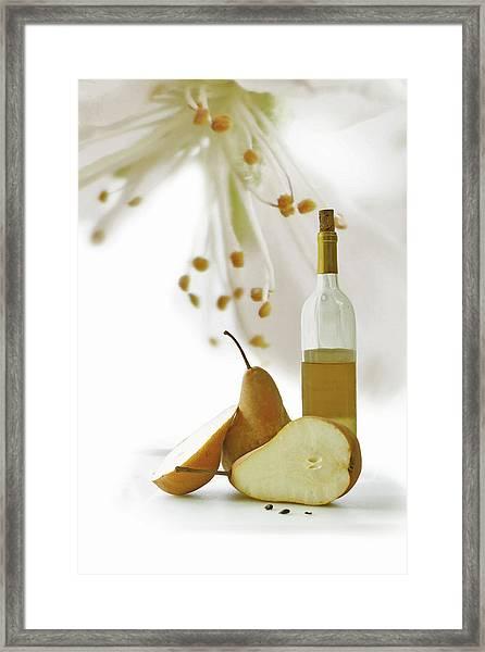 Pears Blossom Framed Print
