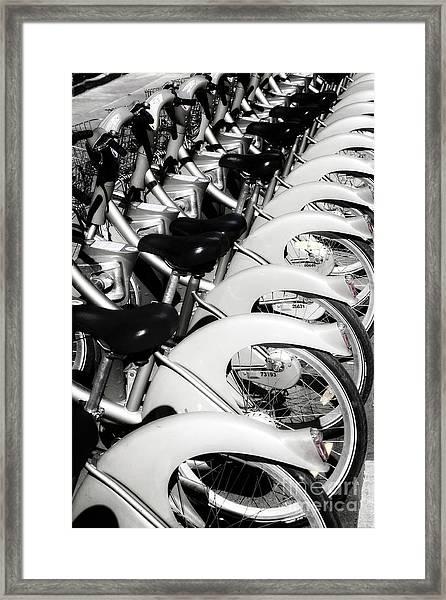 Pedal Power Framed Print