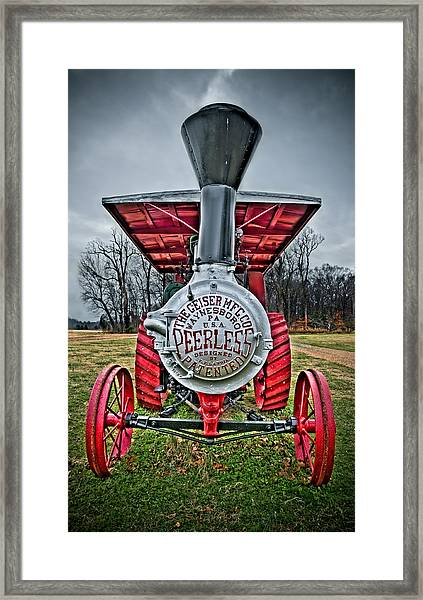 Framed Print featuring the photograph Peerless by Williams-Cairns Photography LLC
