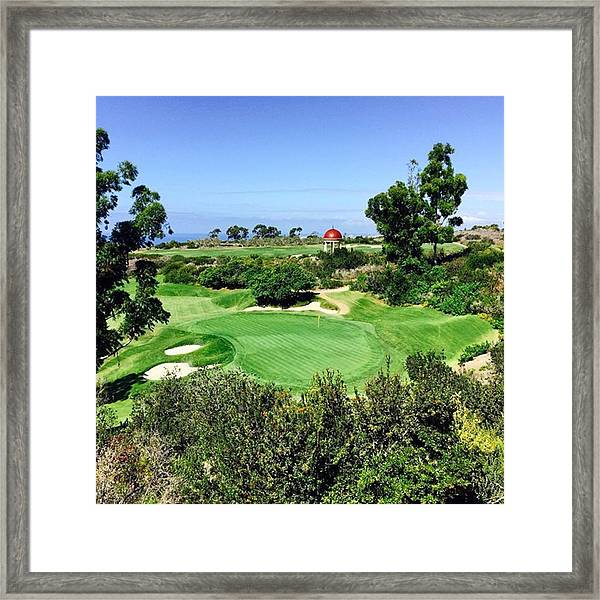 Pelican Hill #california #instaprints Framed Print