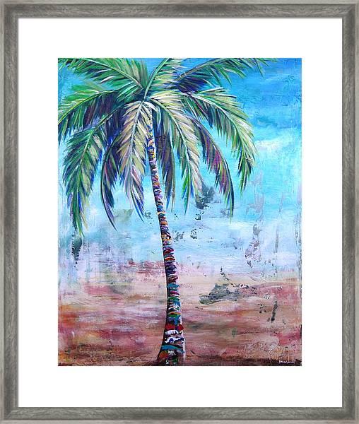 Pelican Palm I Framed Print