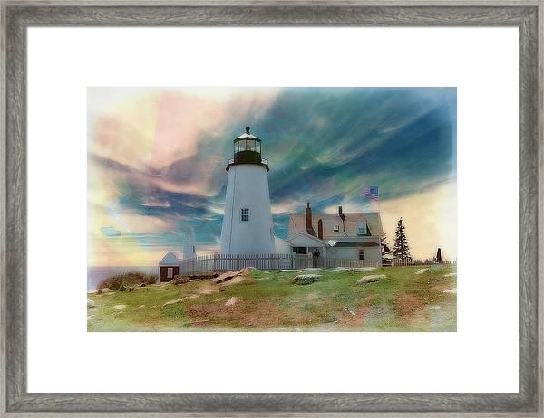 Pemaquid Lighthouse,maine Framed Print
