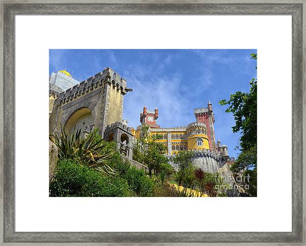 Pena National Palace, Portugal Framed Print