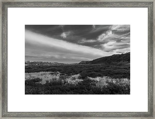 Penasquitos Creek Marsh Framed Print