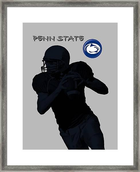 Penn State Football Framed Print