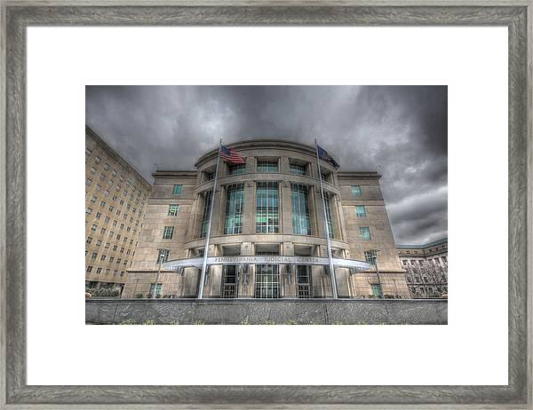 Pennsylvania Judicial Center Framed Print