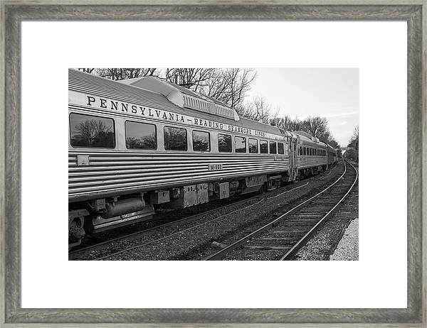Pennsylvania Reading Seashore Lines Train Framed Print