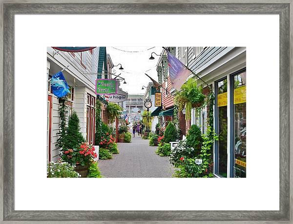 Penny Lane Greenery Framed Print