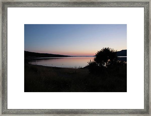 Pennyghael Sunset Framed Print
