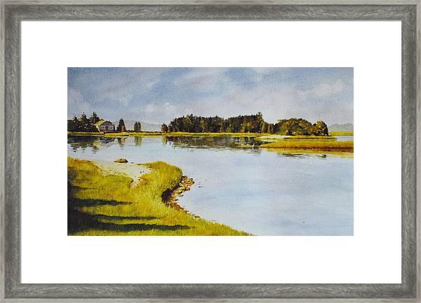 Petomska Inlet Framed Print