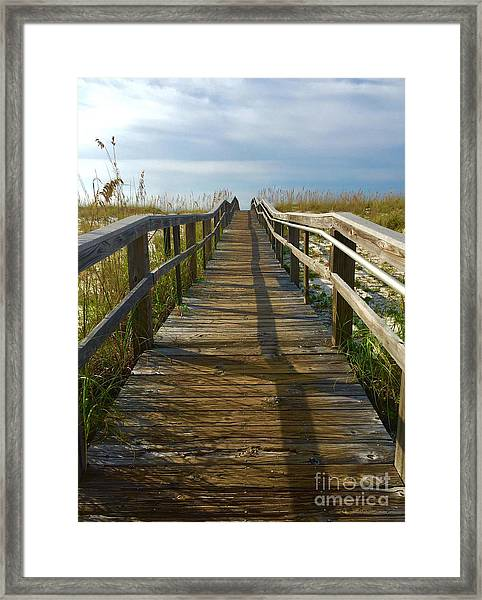 Framed Print featuring the painting Pensacola Florida A52516 by Mas Art Studio
