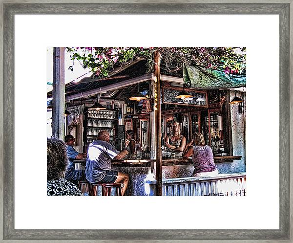 Pepes Cafe Framed Print by Joetta West